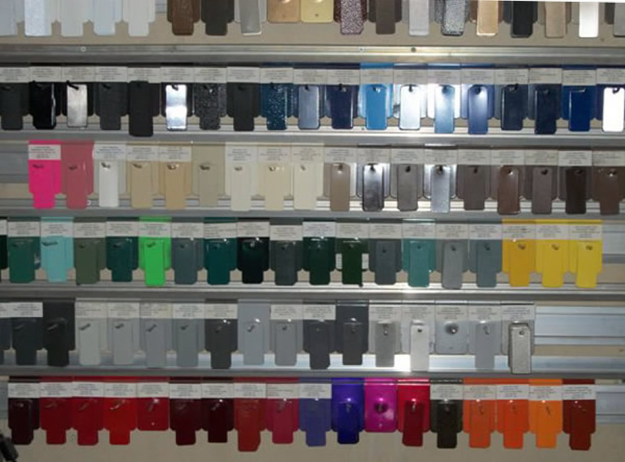 Powder Coat Paint Colors High Gloss Finishes